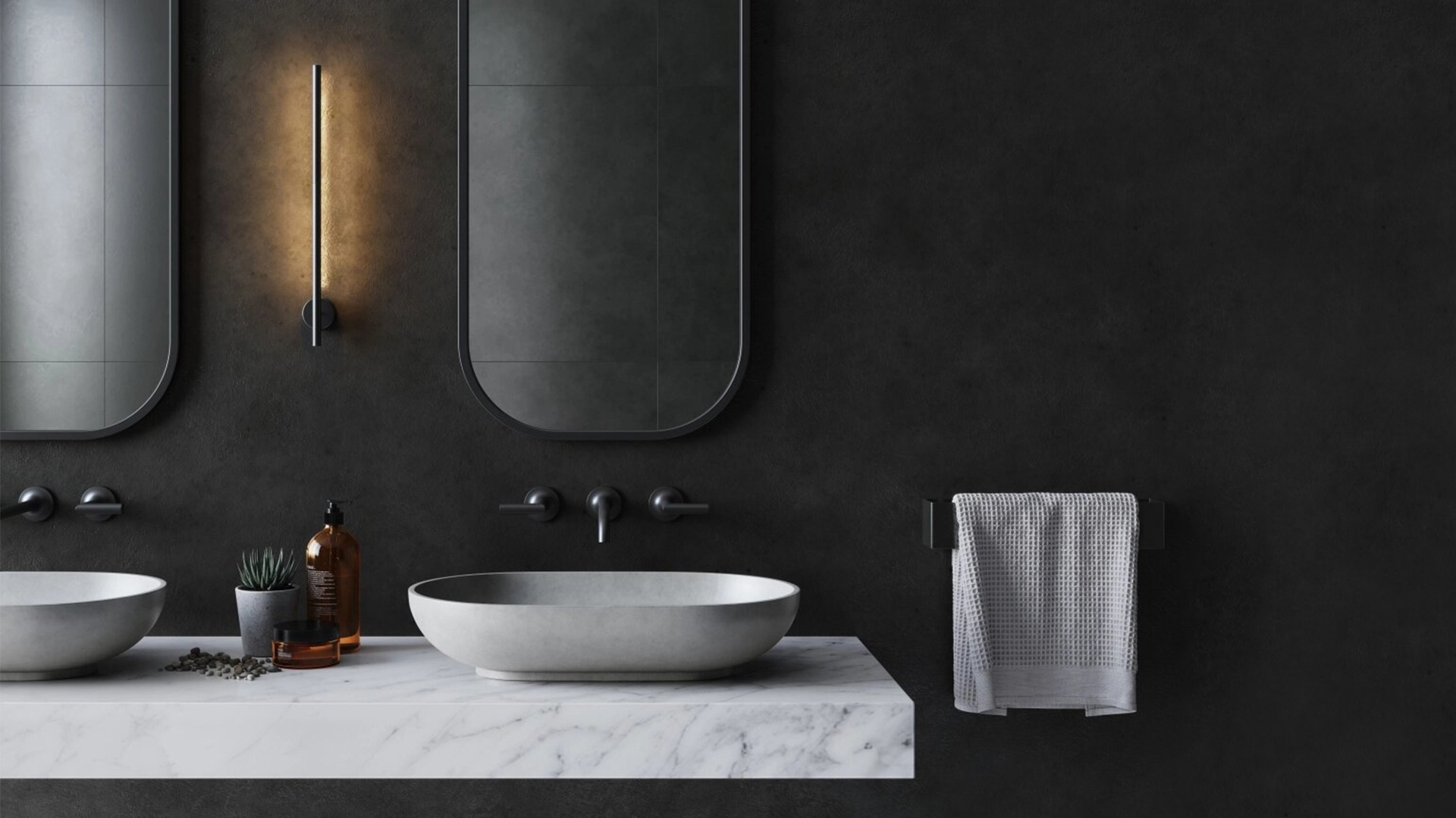 CGI Project for a Bathroom Rendering