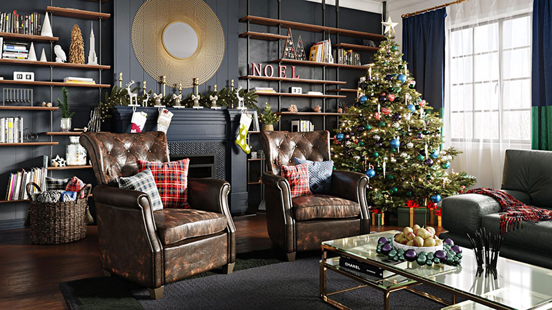 A Christmas 3D Lifestyle That Works Perfectly for Holiday Marketing and Promo Ideas