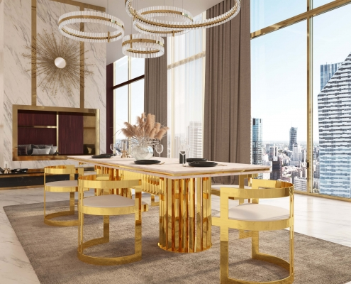 Photorealistic Render for Luxurious Furniture