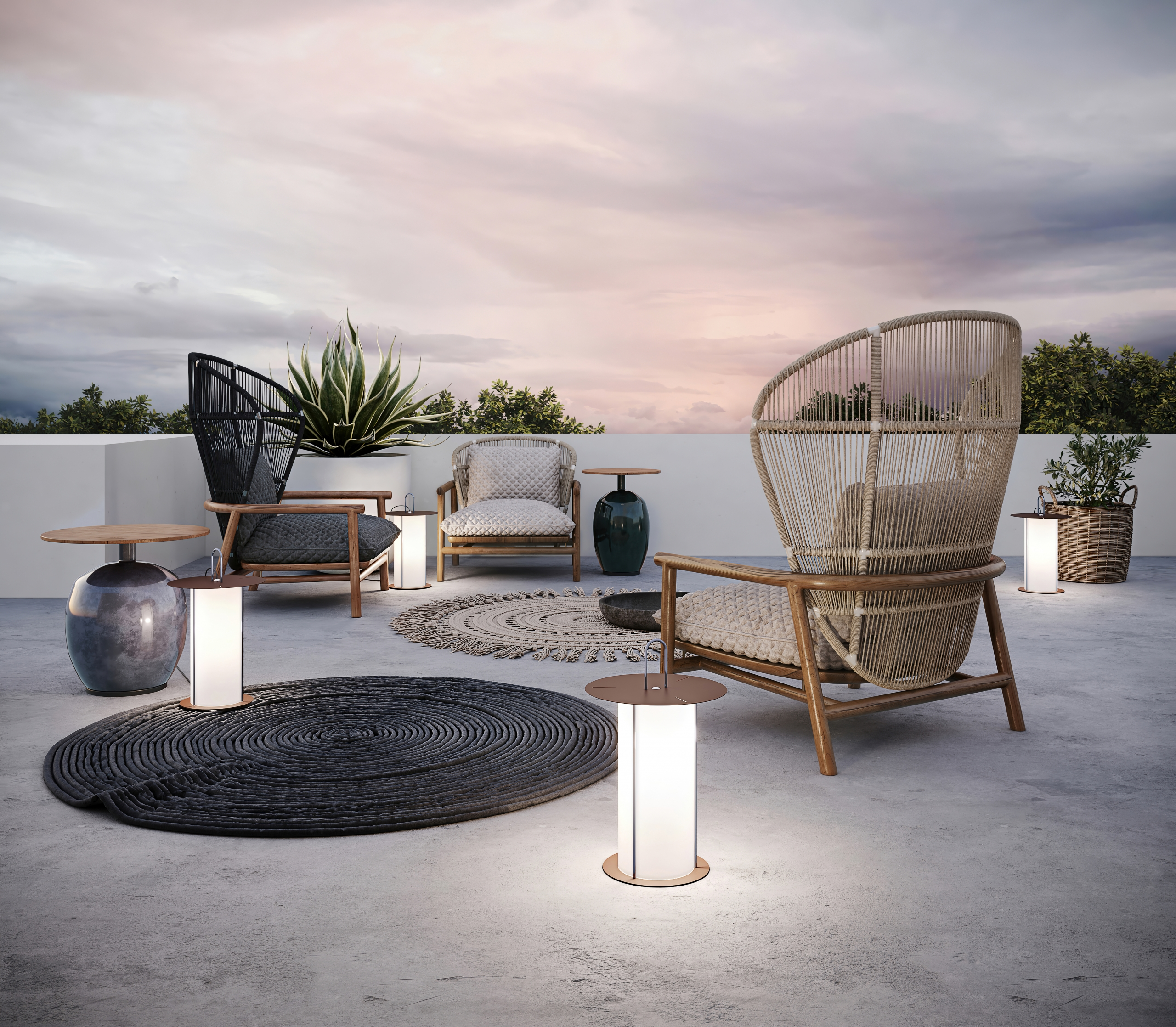 Custom Rendering for Outdoor Chairs