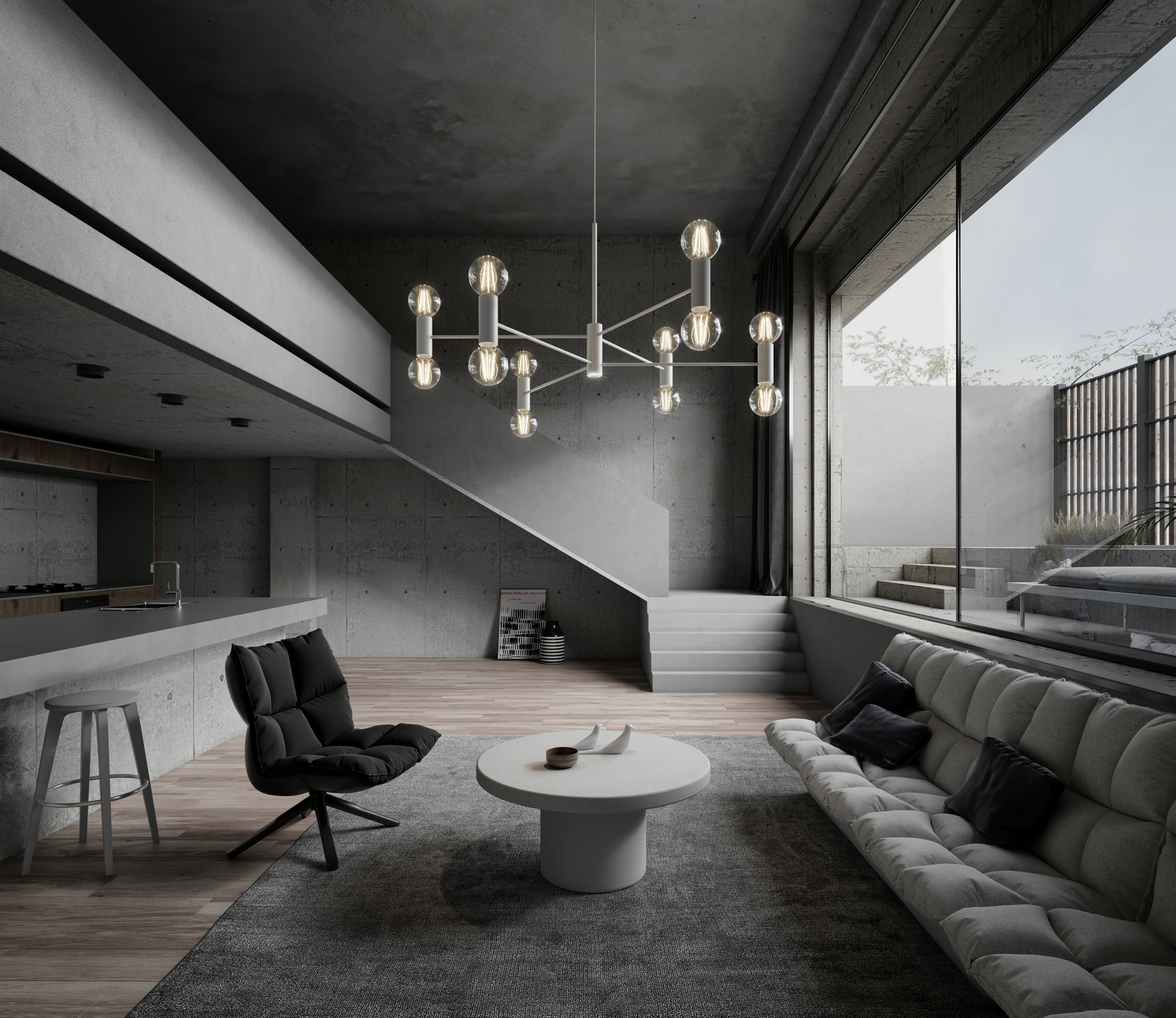 Lifestyle Furniture 3D Rendering