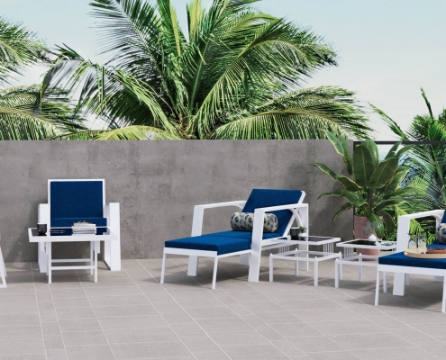 3D Product Render for Outdoor Furniture