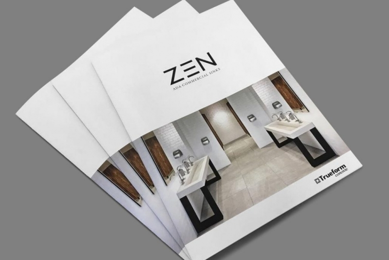 A Print Bathroom Catalog Made with Product 3D Rendering Technology