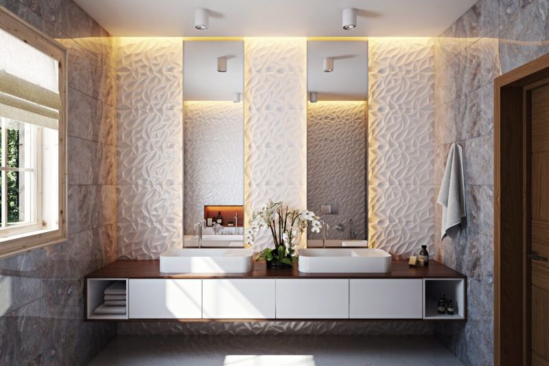 3D Product Render for a Sink from a Modern Bathroom Collection