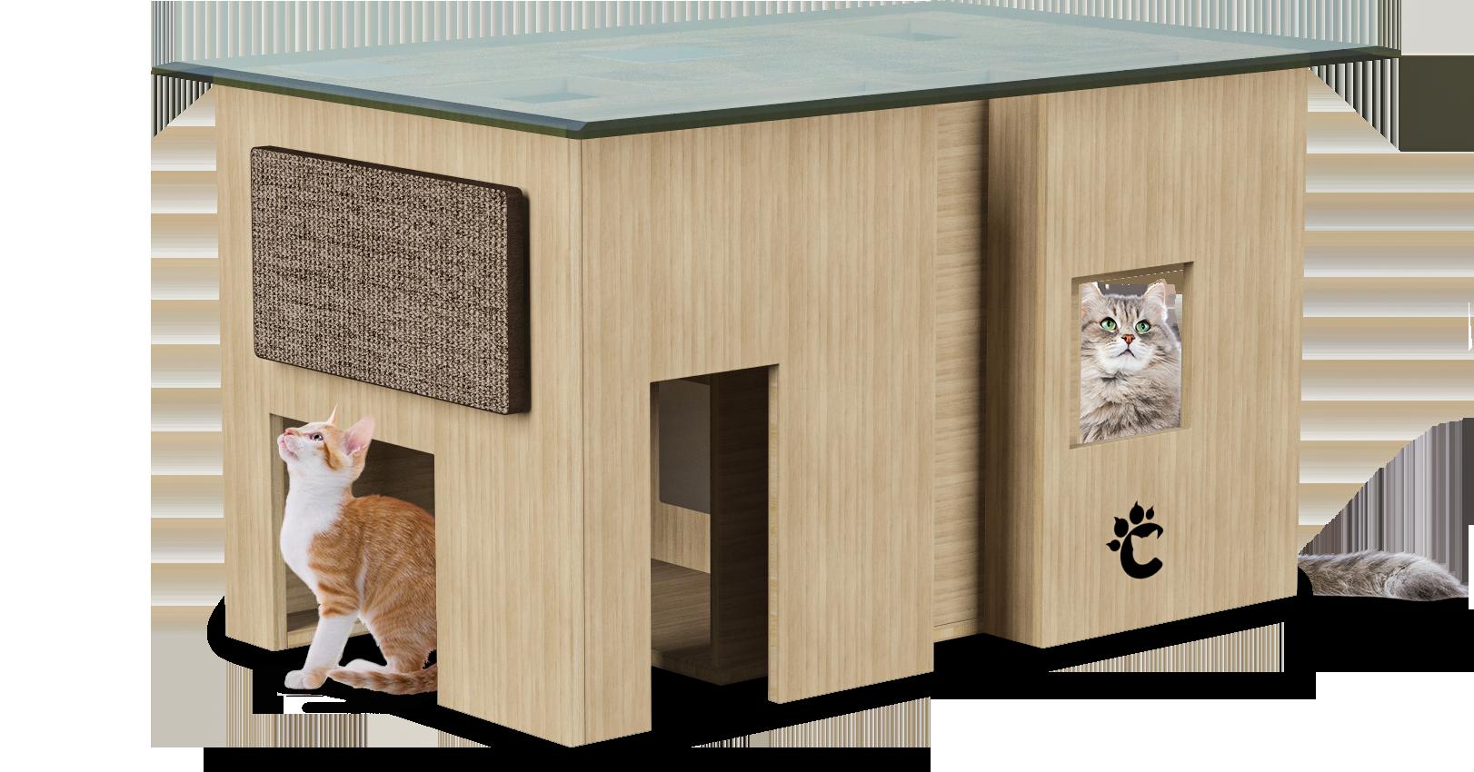 3D Rendering for Clawz Modern Cat Furniture