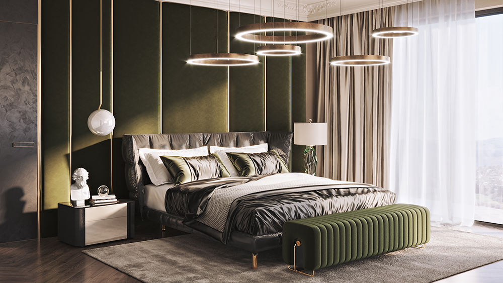 CG Bedroom Lifestyle Visualization
