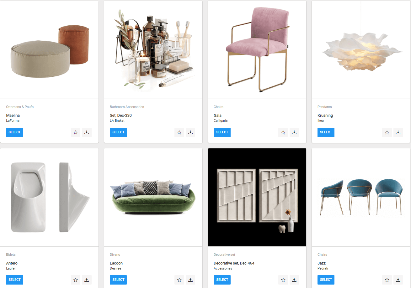 Photorealistic 3D Models for Product Lifestyle Visualization