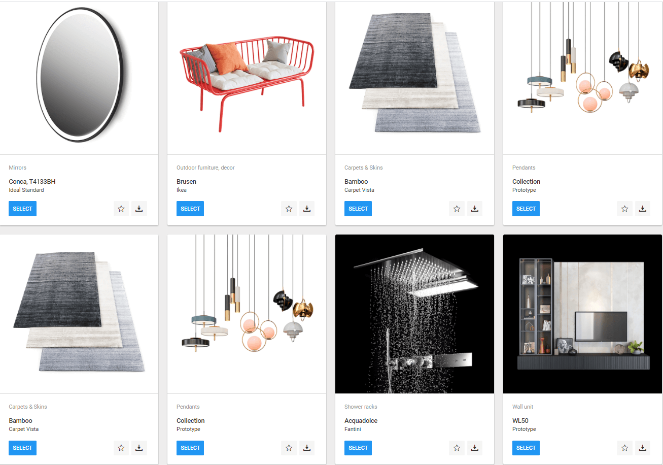 Collection of 3D Models for Product Rendering Projects