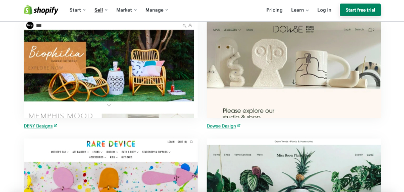 A Shopify Online Selling Platform Where People Sell and Buy Furniture and Accessories