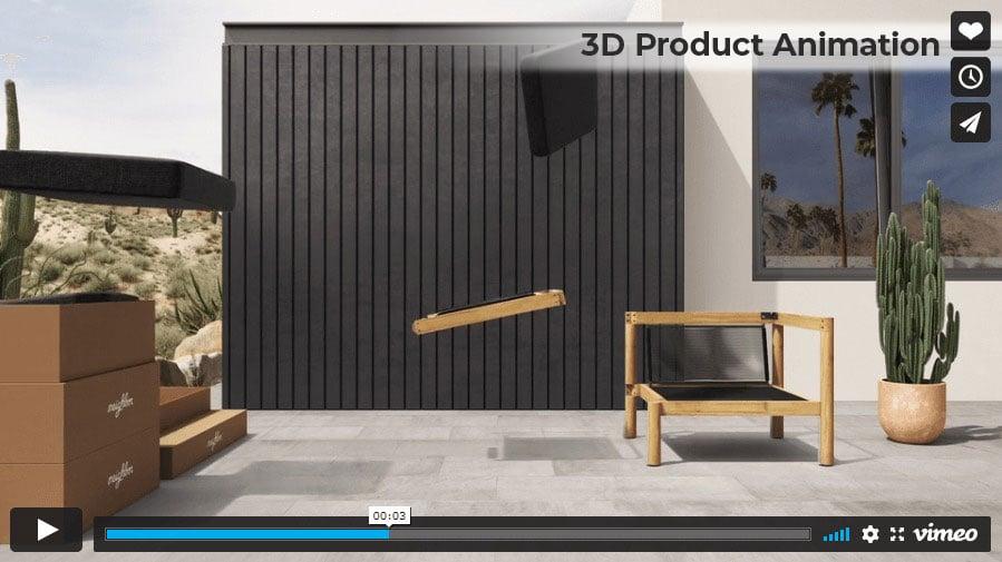 Product 3D Animation Screenshot