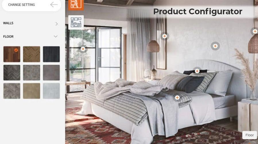Product Configurator Screenshot