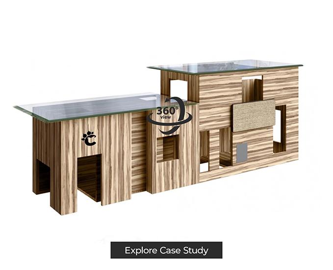 Cat Furniture 3D Modeling for AR