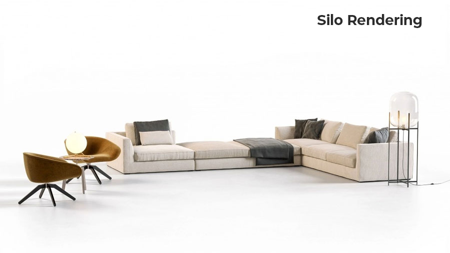 Furniture Set 3D Modeling and Rendering