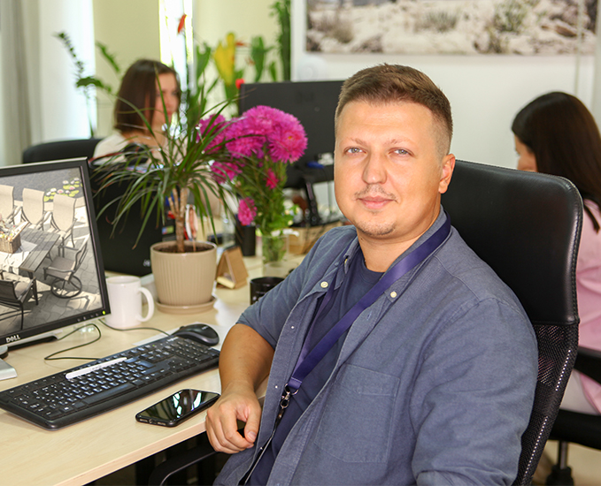 Specialist from 3D Modeling for Augmented Reality Team
