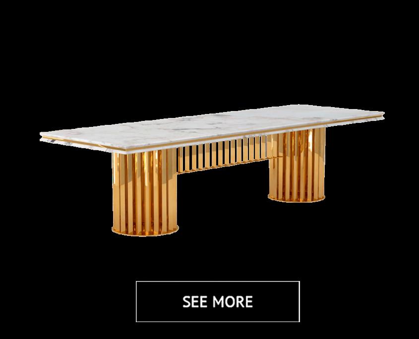 Upmarket Table Design 3D Render