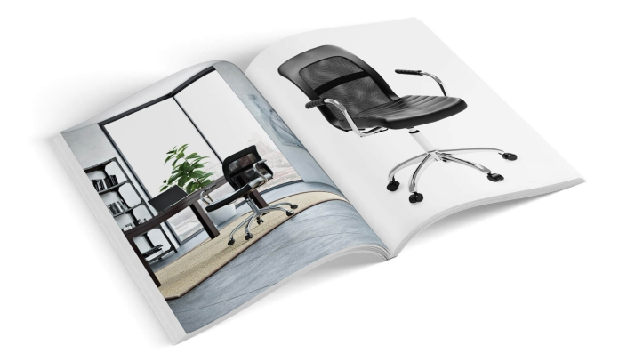 A Product Catalog as a Basic Collateral Idea for any Furniture Brand